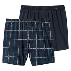 Schiesser Boxershort Graphical Print 2-pack