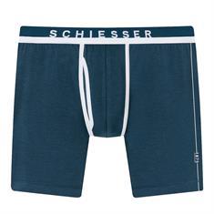 Schiesser Long Short 1875 Donkerblauw