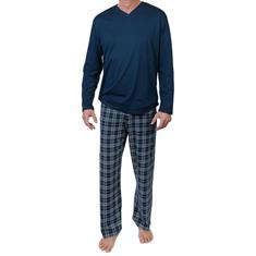 Schiesser Pyjama Lang Geruit