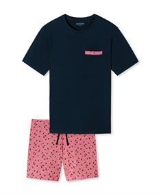 Schiesser Pyjama Met Print