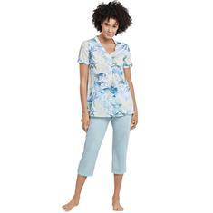 Schiesser Pyjama Rise Up Blauw