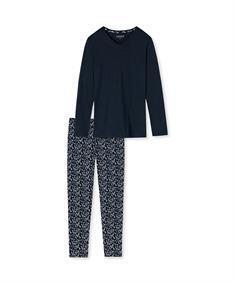 Schiesser Pyjama Set Lang Essentials Comfort Fit