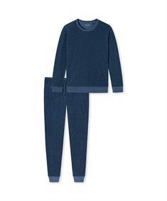Schiesser Pyjama Set Lang Warming Nightwear