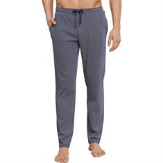Schiesser Pyjamabroek Mix and Relax Blauw
