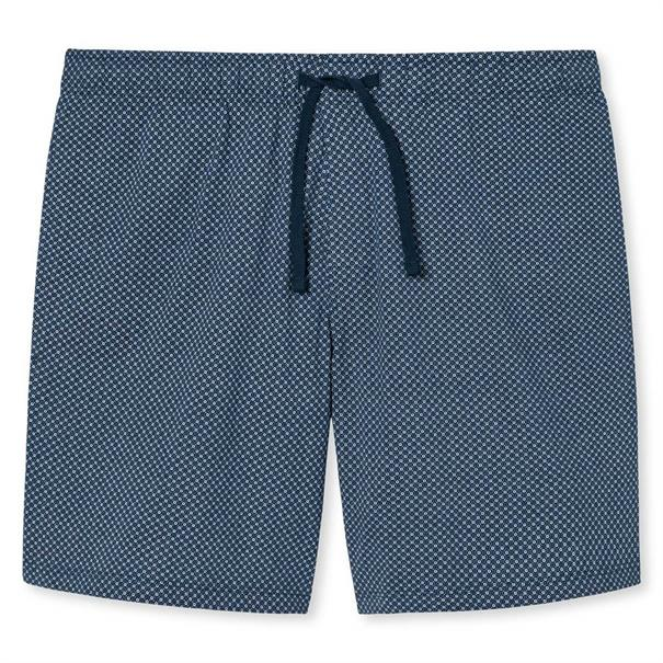Schiesser Pyjamabroek Mix and Relax Blauw