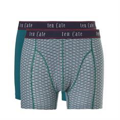 ten Cate Boxershorts Fine 2-pack Groen