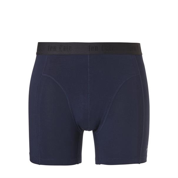 ten Cate Short Bamboo Basic 2-Pack Donkerblauw
