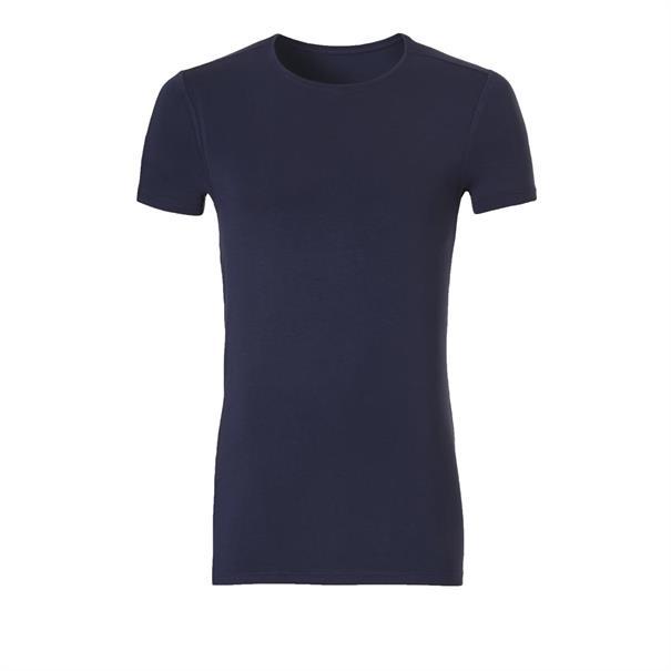 ten Cate T-shirt Bamboo Basic Donkerblauw