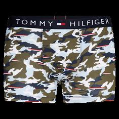 TOMMY HILFIGER Boxershort Print Groen/Donkerblauw