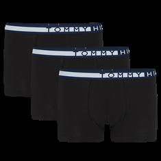 TOMMY HILFIGER Boxershorts Statement 3-Pack Zwart