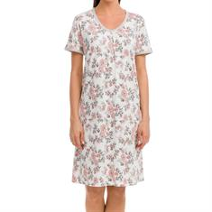 Vamp Nachthemd Floral Print Roze