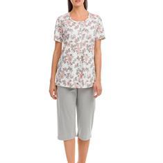 Vamp Pyjama Set Floral Roze