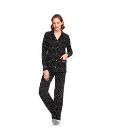 Vamp Pyjama Set Lang Sterren Dessin