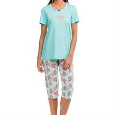 Vamp Pyjama Set Print Lichtblauw
