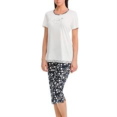 Vamp Pyjama Set Print Off-white